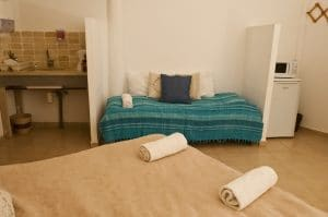 חדרי אירוח במדבר