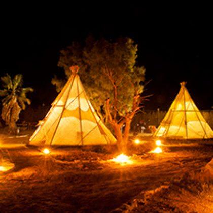 אוהלים אינדיאנים – טיפי